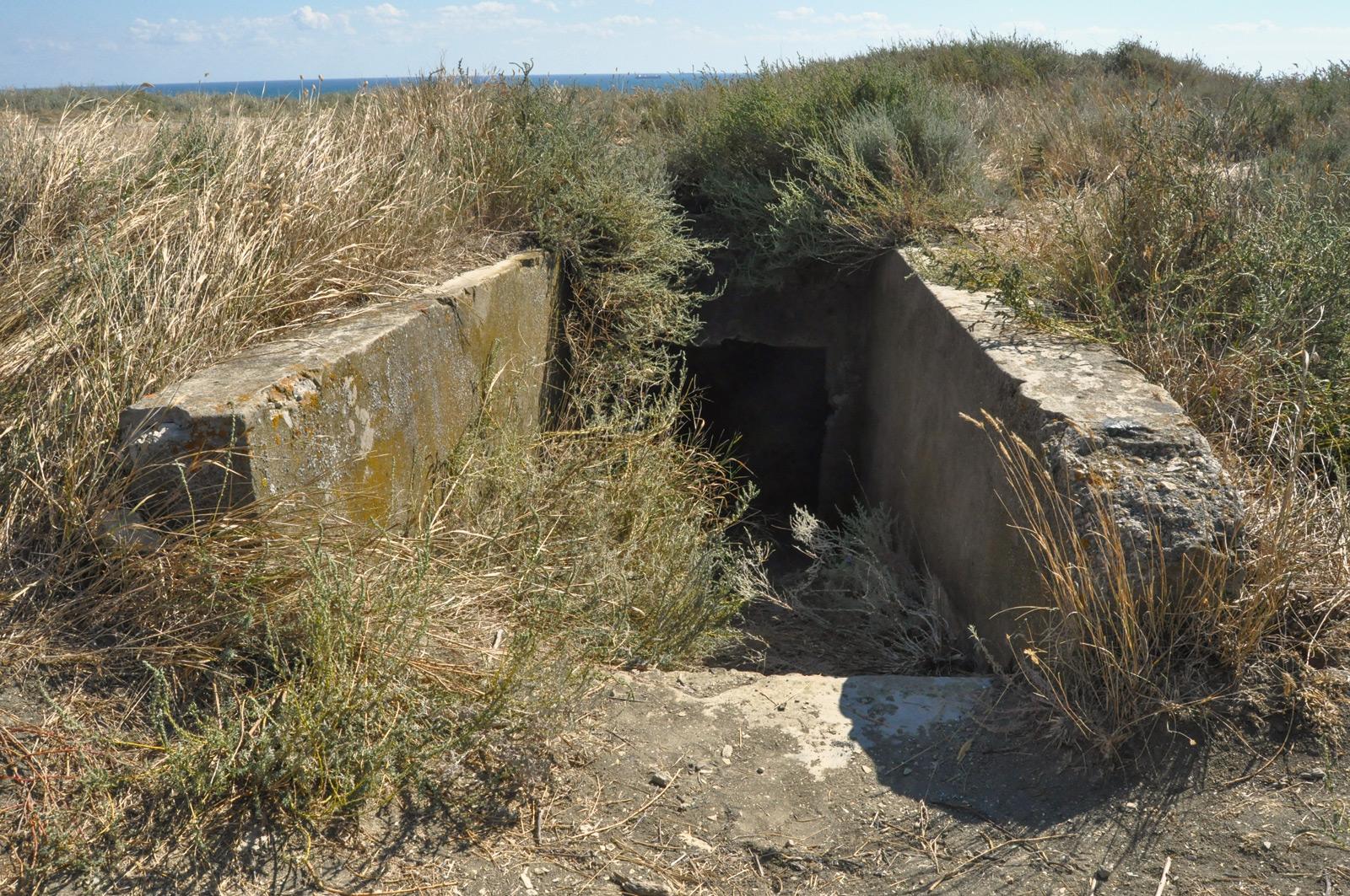 Руины артбатарей № 33 и № 743