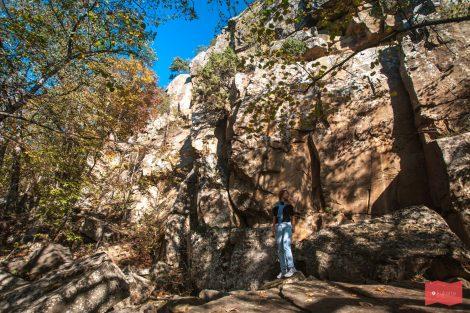 Красные скалы (Наумовские), Северский район