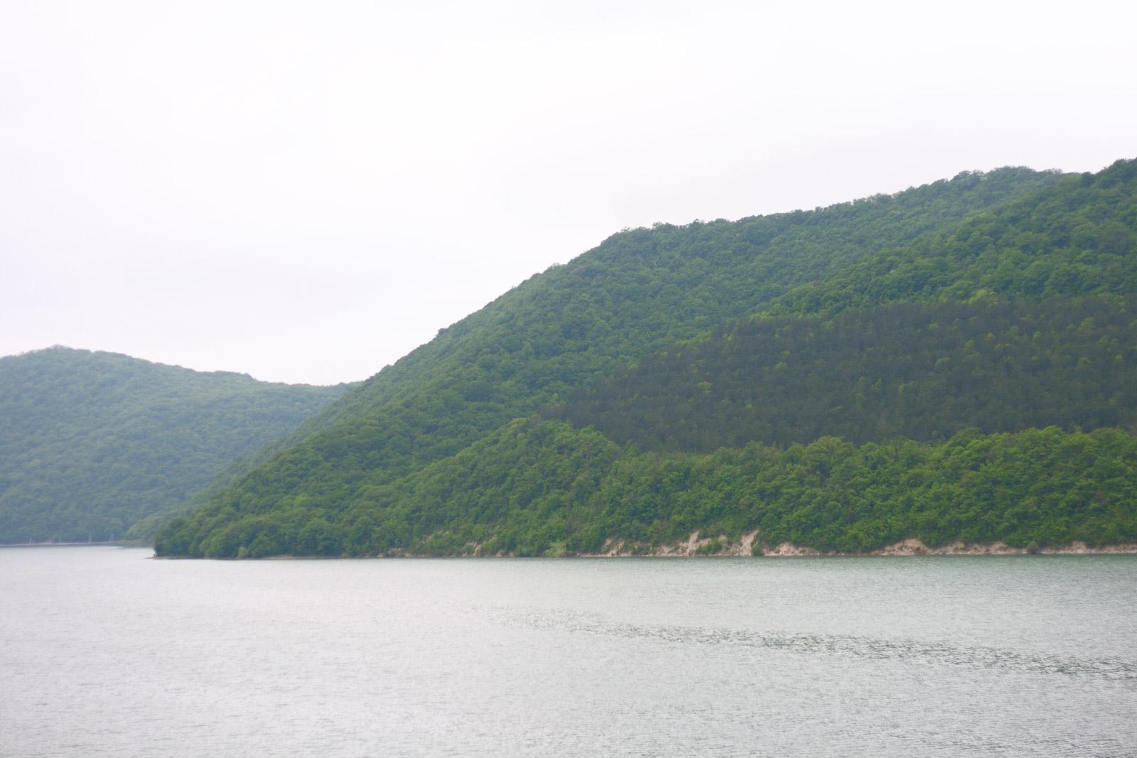 Смотровая площадка на озеро Абрау