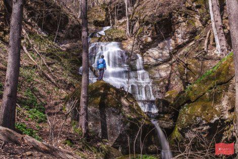 Водопад на реке Кутанка, Хамышки, Адыгея