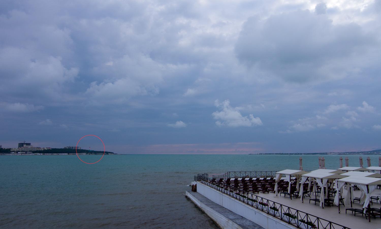 Геленджикский маяк. Вид с набережной