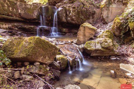 Малый Каверзинский Водопад в апреле