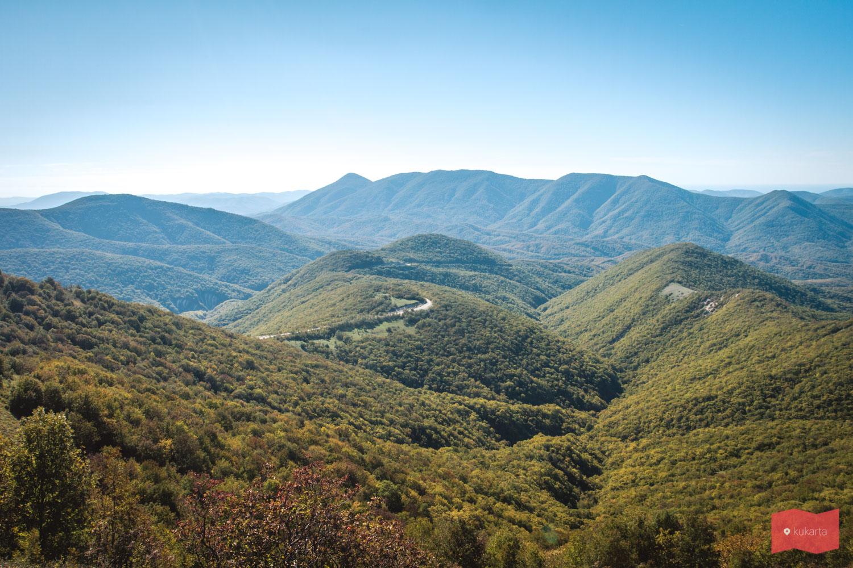 Вид с горы Шахан, Геленджик