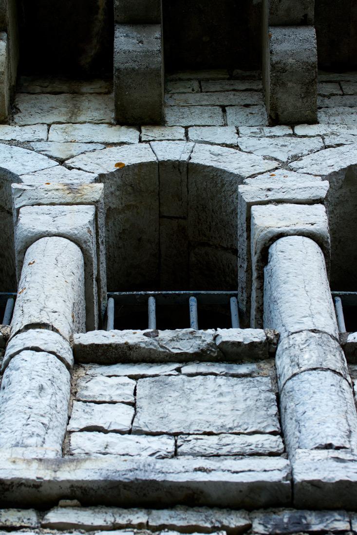 Фрагмент башни Ахун