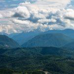 Вид с горы Большой Ахун