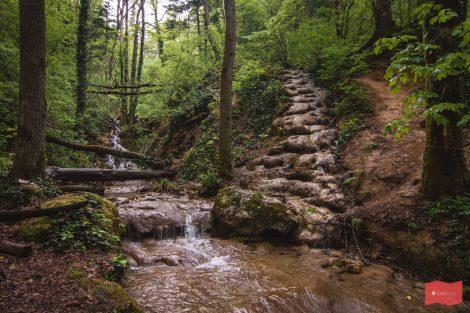 Пещера Университетская, Каверзинские водопады