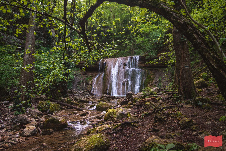 Большой Каверзинский водопад, Каверзинские водопады