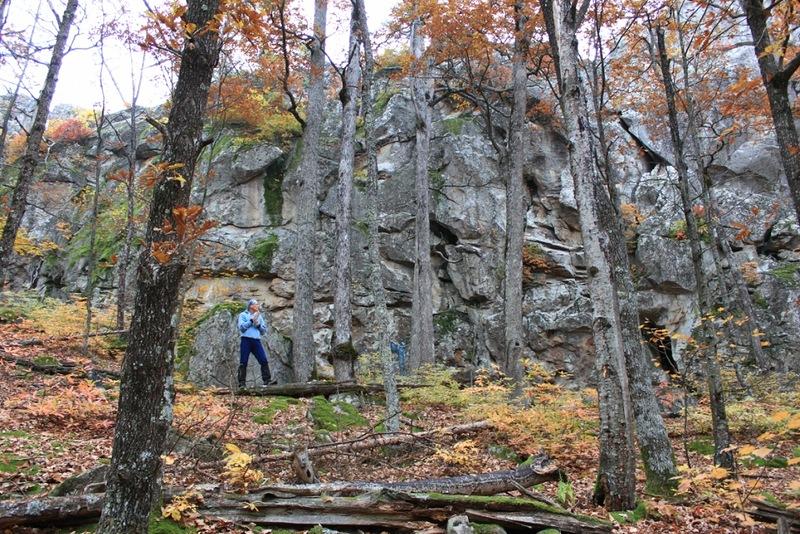 Скалы Монастыри