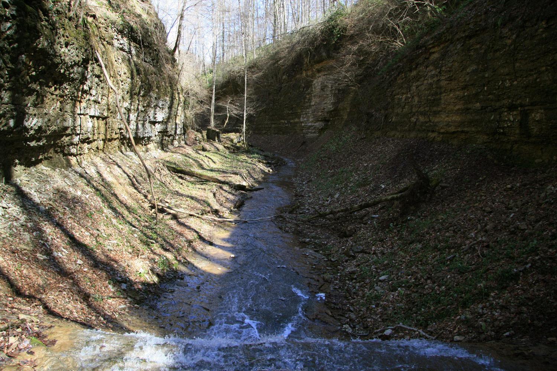 Водопады на р Аминовка