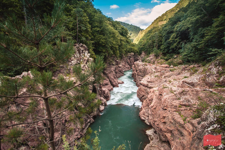 Гранитный каньон, Адыгея