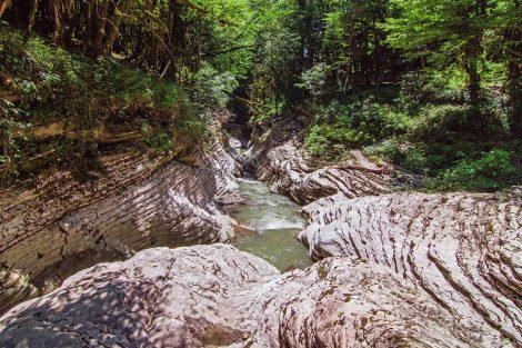 Мокрый каньон Псахо