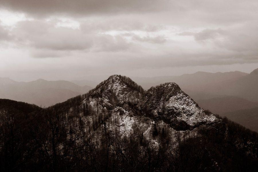 Гора Два брата, автор Сергей Кущь