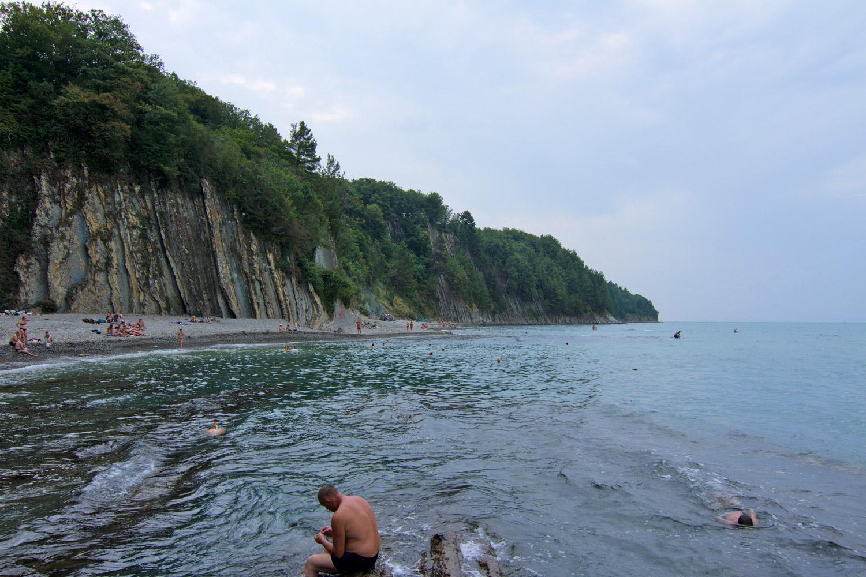Кемпинг на скале Киселева