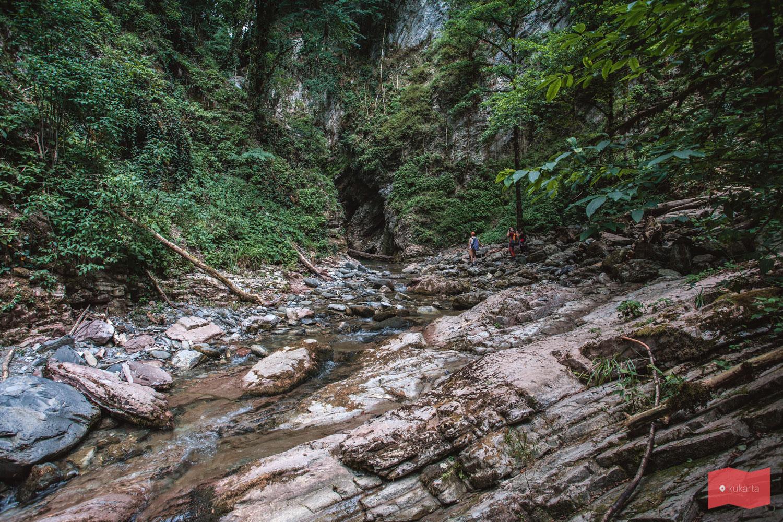 Финальный участок, перед Верхним Ажекским водопадом