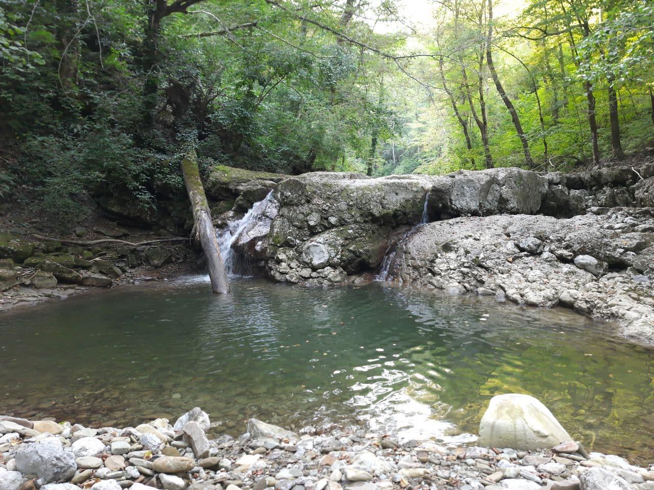 Второй Аюкский водопад
