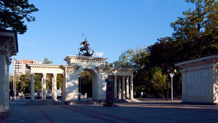Сквер имени Жукова