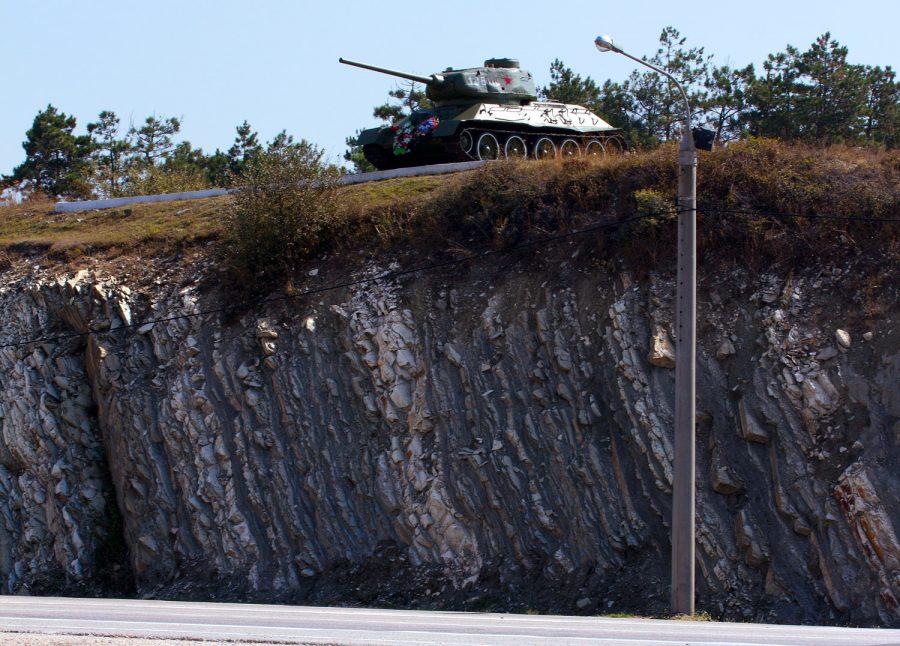 Т-34, Верхнебаканское
