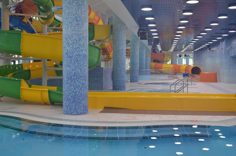 Крытый аквапарк в Сочи