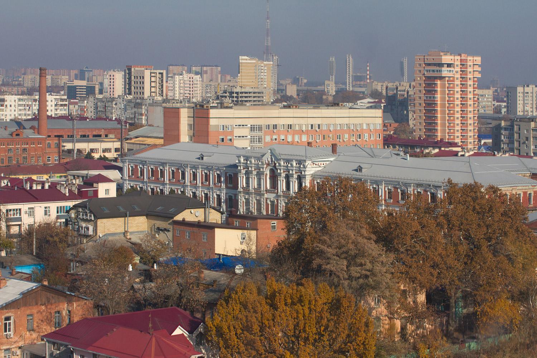 Колесо обозрения парк Горького Краснодар