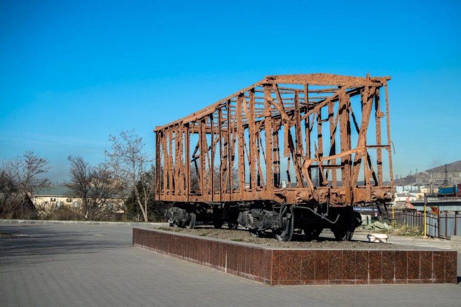 Памятник-вагон