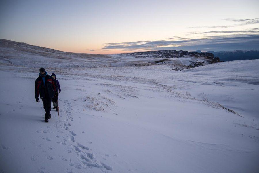 Поход на Оштен зимой