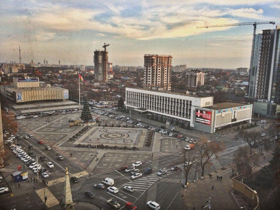 Театральная площадь, фото Евгения Резника
