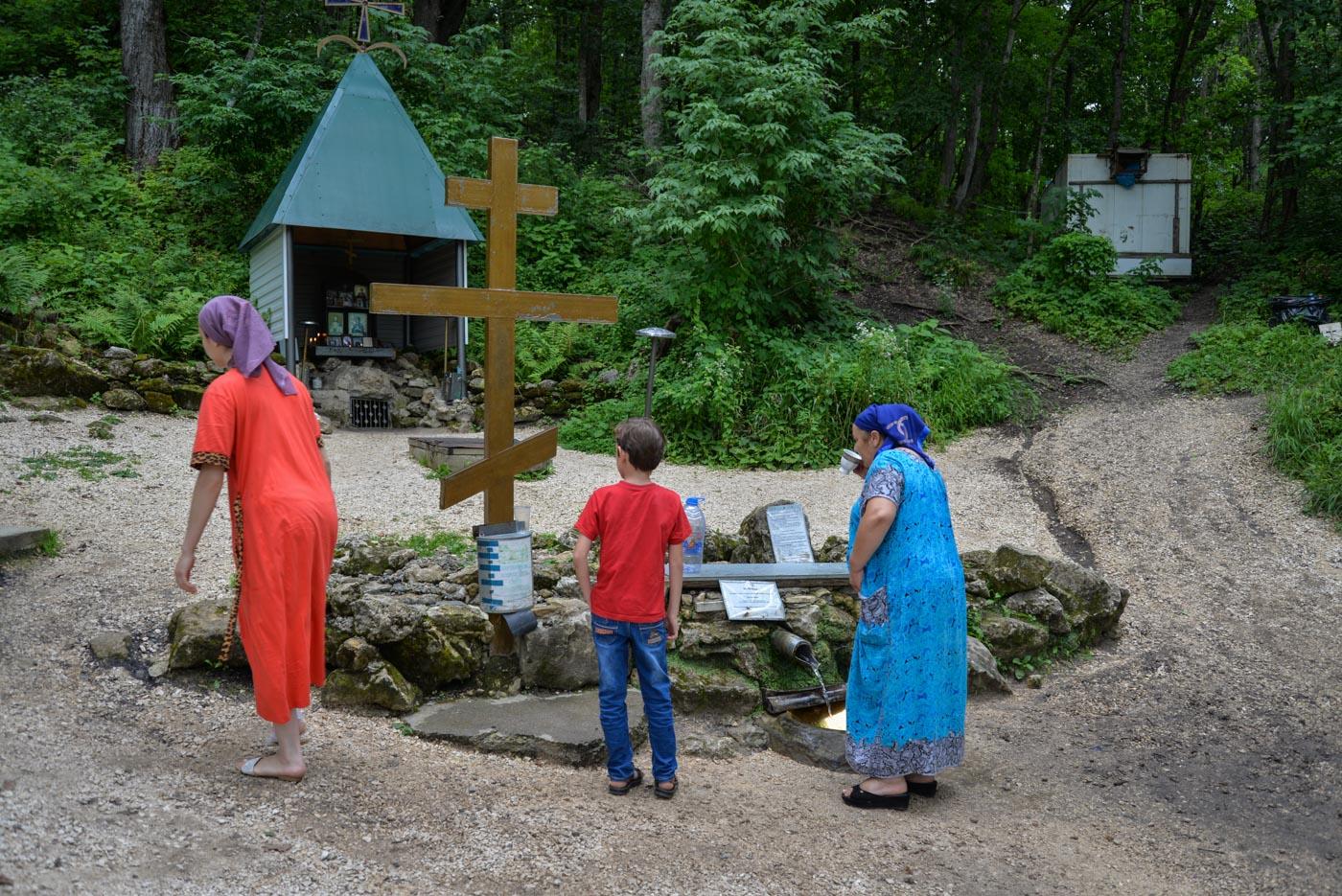 Монастырь в поселке Победа