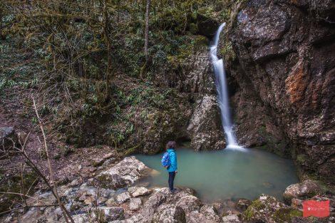 Водопад Сандиков, Мезмай