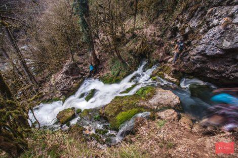 Водопад Исиченко, Мезмай