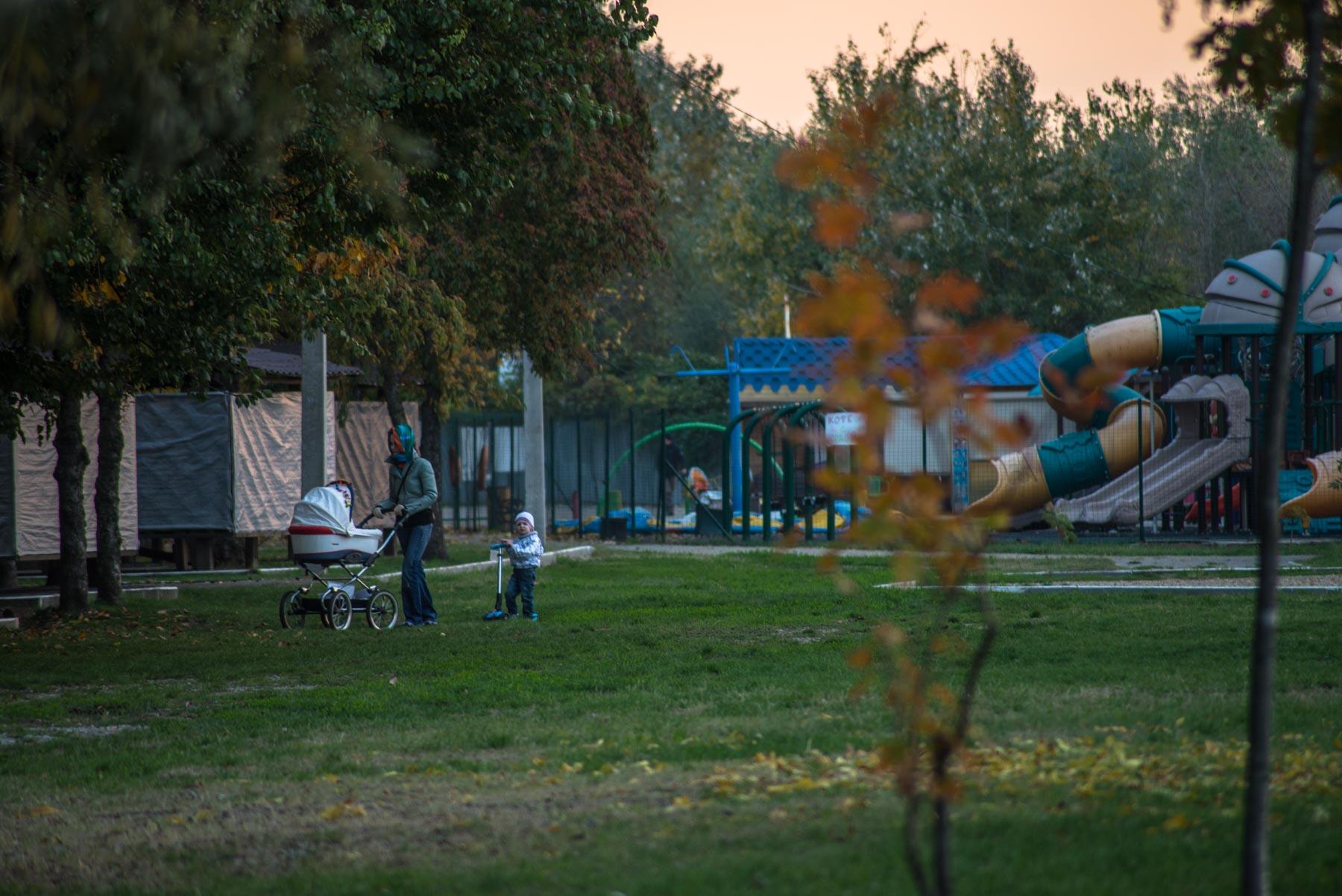 Рождественский парк