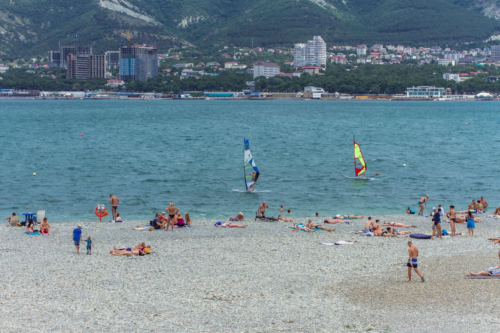 Пляж Геленджика