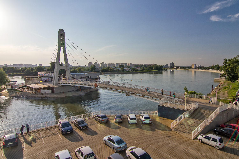 Мост поцелуев Краснодар