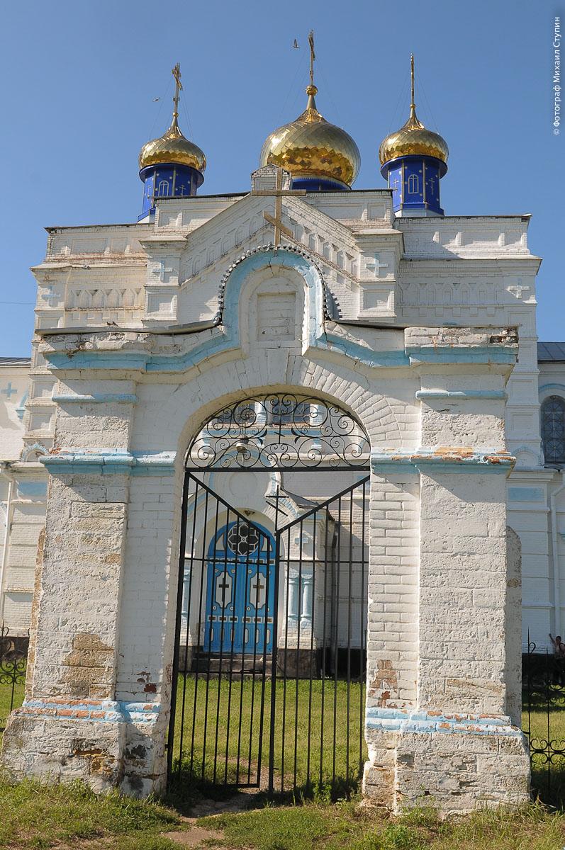 Храм в успенской