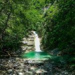 Водопад на реке Паук