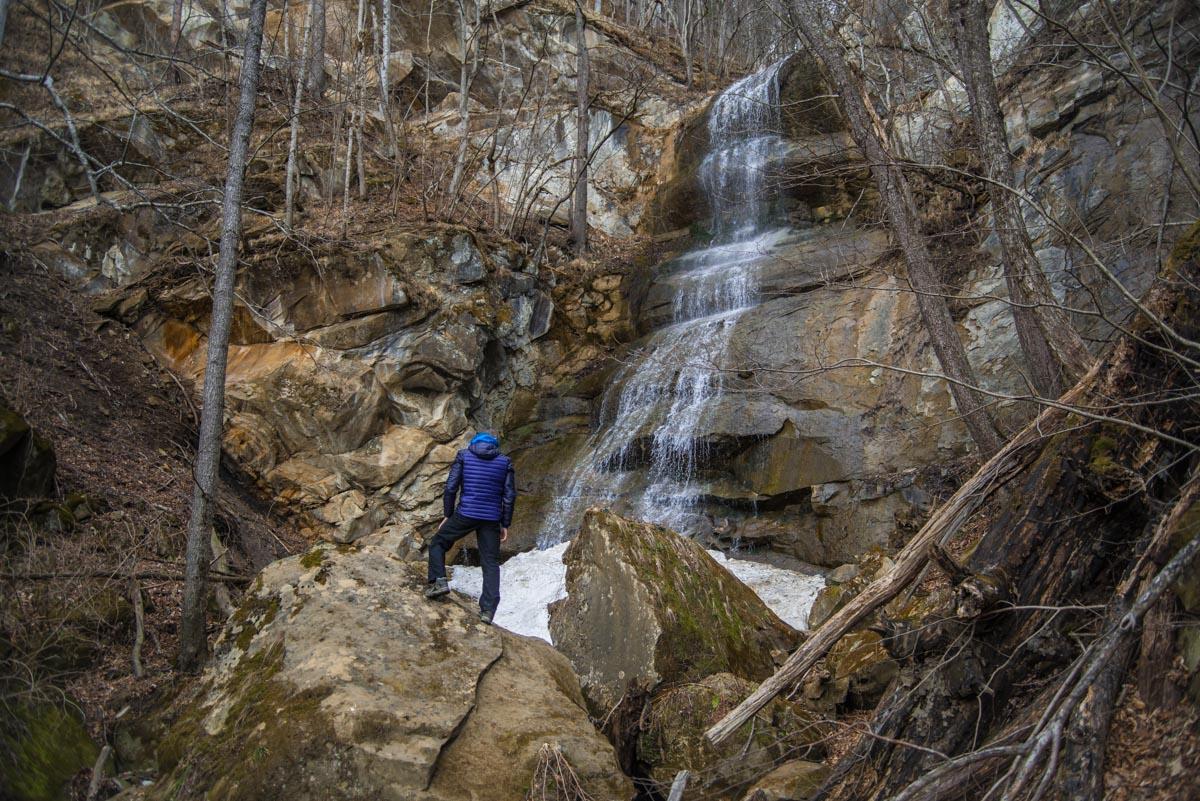 Водопад на Кутанке