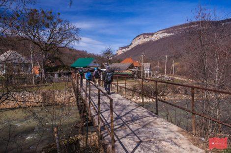 Мезмай, начало пути на Алебастровую балку