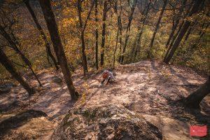 Подъем на Планческие скалы
