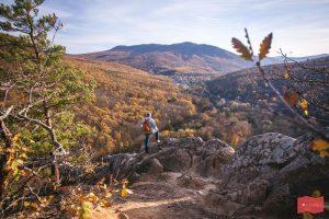 Планческие скалы осенью