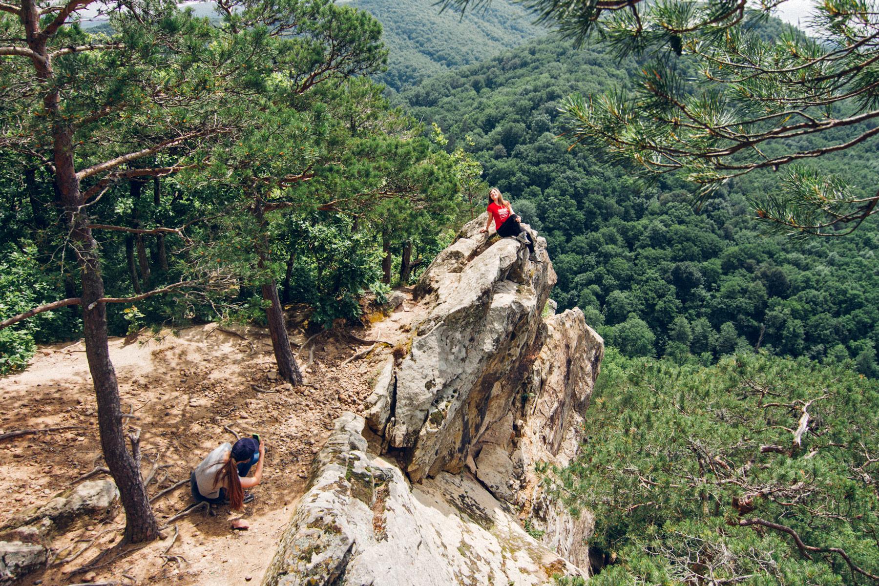 #походКукарта Планческие скалы