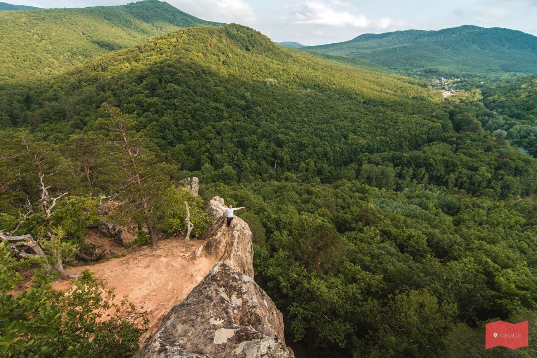 Планческие скалы, Северский район