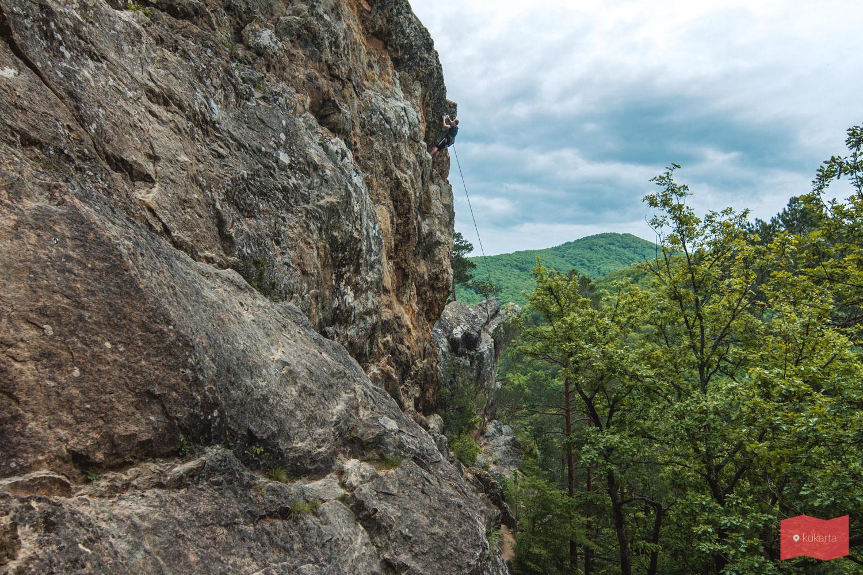 Скалолазание на Планческих скалах