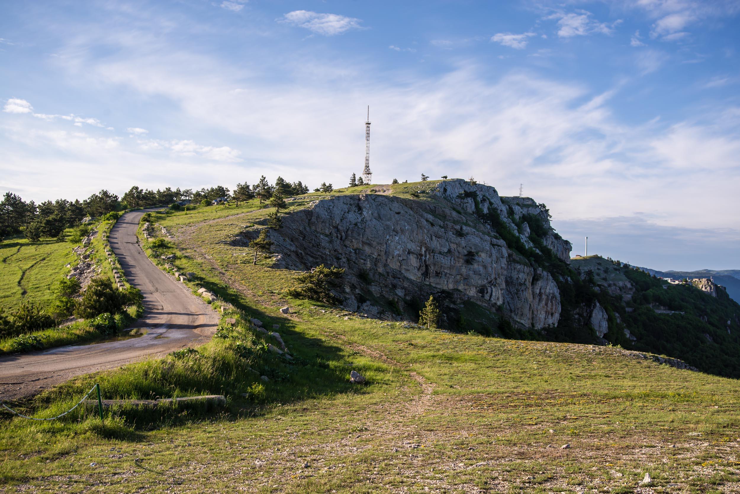 Дороги в Крыму