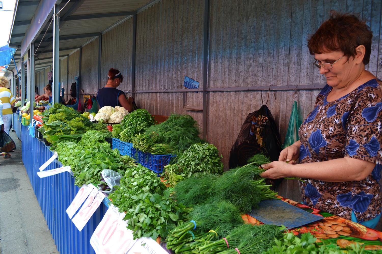 Ейский рынок, фото Андрей Метель