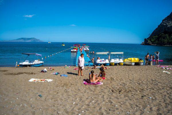 Пляж поселка Новый Свет