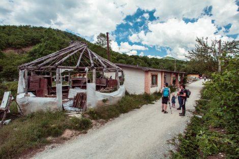 Деревня в долине реки Жане