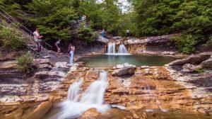 Водопады реки Жане, Изумрудный