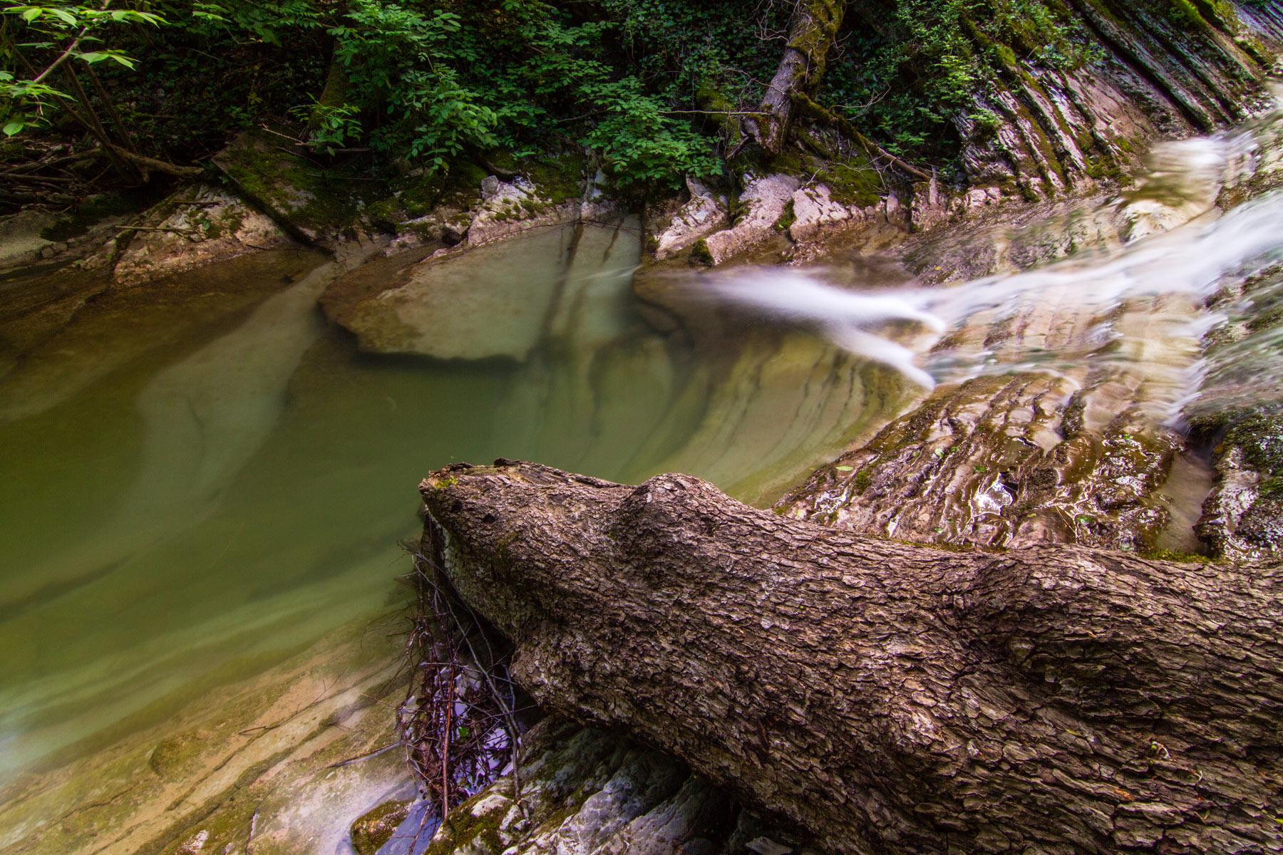 Водопады реки Жане