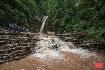 Водопады Руфабго, Адыгея