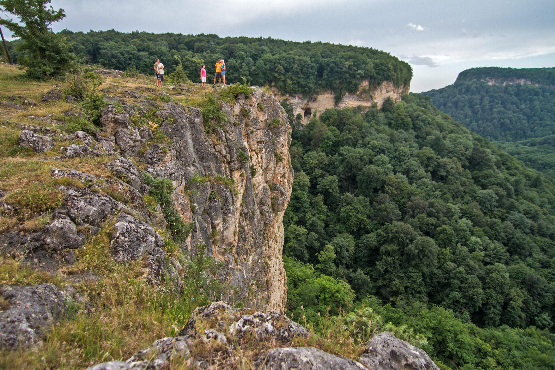 Смотровая площадка на ущелье Мишоко