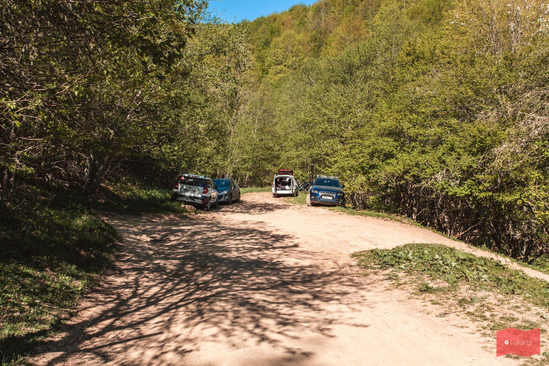 По дороге на Чинарский водопад